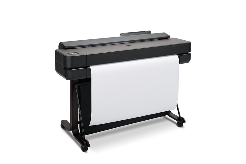 "HP DesignJet T650 Large Format Wireless Plotter Printer - 36"", with convenient 1-Click Printing"