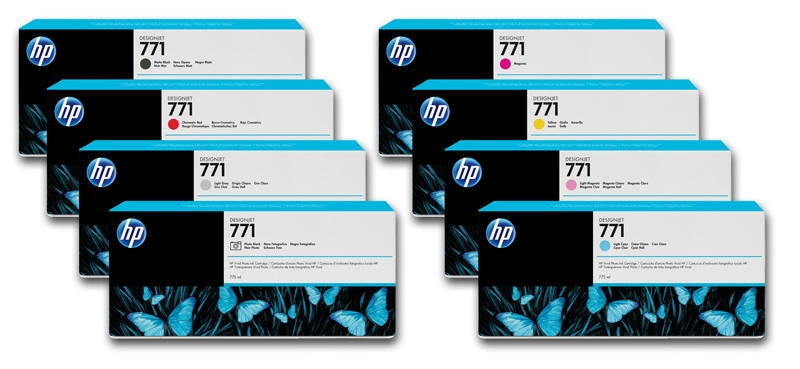 HP 771 Light Cyan 775ml Inkjet Cartridge