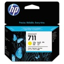 HP 711 Yellow 29 ml 3 pack ink cartridges