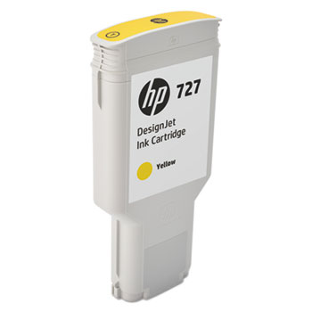 HP 727 Yellow 300ml Ink Cartridge