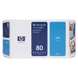 [C4846A] HP 80 Cyan 350ml Ink Cartridge