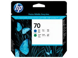 [C9408A] HP 70 Blue / Green Printhead