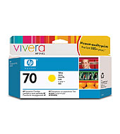 [C9454A] HP 70 Yellow 130ml Ink Cartridge