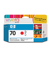 [C9456A] HP 70 Red 130ml Ink Cartridge