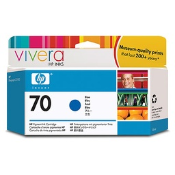 [C9458A] HP 70 Blue 130ml Ink Cartridge