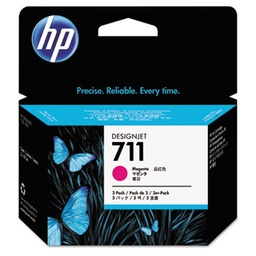 [CZ135A] HP 711 Magenta 29ml 3 pack ink cartridges